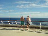 Men On The Deck