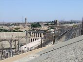 stock photo of aswan dam  - a generating plant in Aswan  - JPG