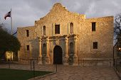 The Alamo Blazing In The Light