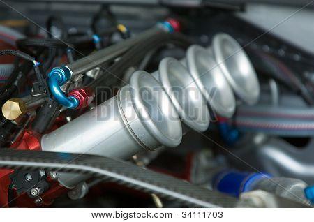 Air Intakes Of Racing Engine