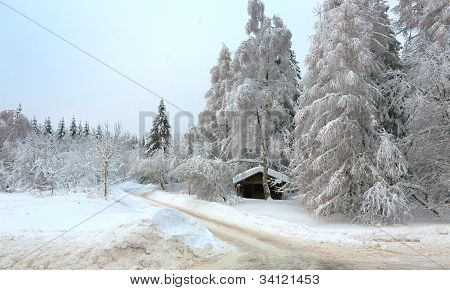 Winter in the german Harz
