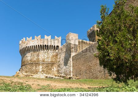 Fortress of Populonia, Tuscany.
