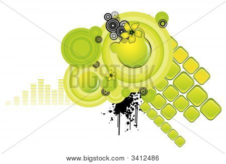 Circles Abstract Vector