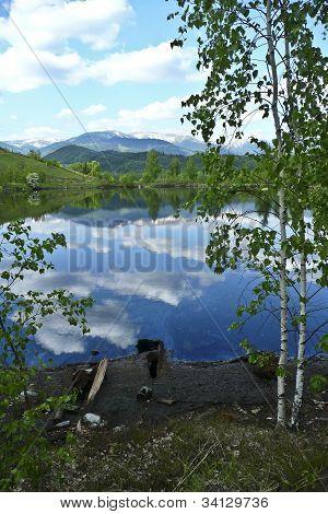 Gudron lake