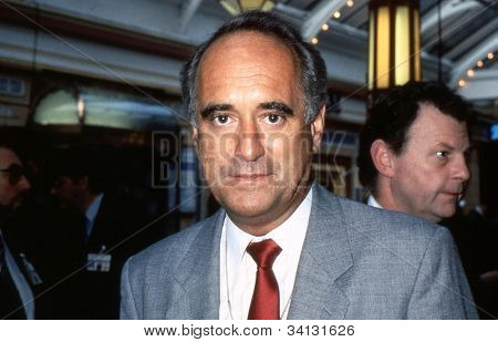 BLACKPOOL, ENGLAND - OCTOBER 10: Dr.Brian Mawhinney, Conservative party Member of Parliament for Peterborough, attends the party conference on October 10, 1989 in Blackpool, Lancashire.