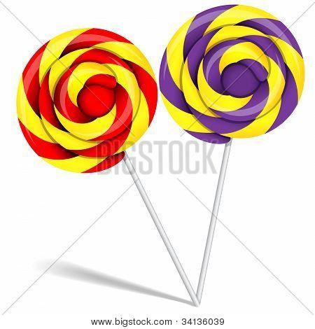 Lollipop-Bonbons