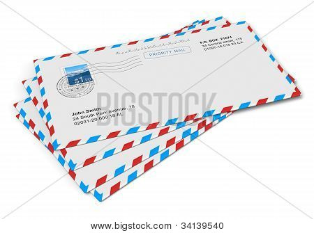 Paper mail letters