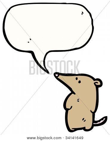 cartoon shrew