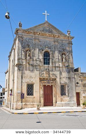 Church of Immaculate Conception. Martano. Puglia. Italy.