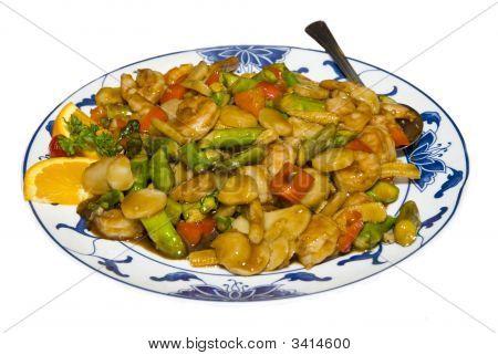 Chicken Chinese Dish