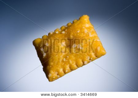 Cheese Cracker Floating