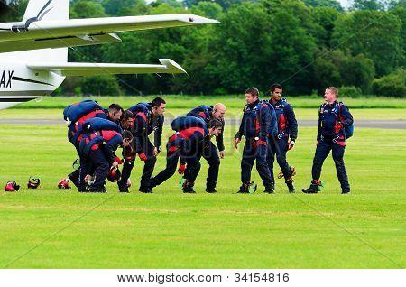 RAF Falcons Parachute Display Team
