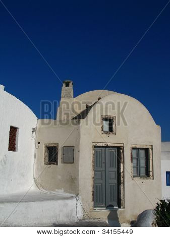 Typical Santorini House
