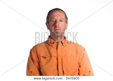Portrait Senior Man
