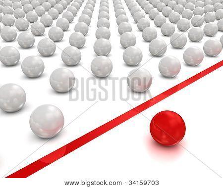 Individuality balls