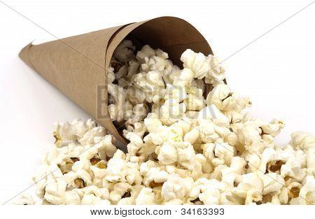 Popcorn In Paper Cone