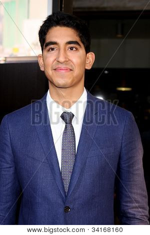 LOS ANGELES - JUN 20: Dev Patel at HBO's