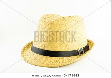 Yellow Weaving Hat