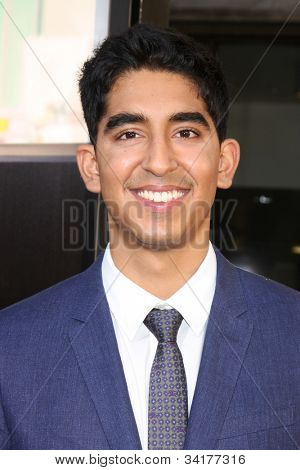 LOS ANGELES - JUN 20:  Dev Patel arrives at HBO's