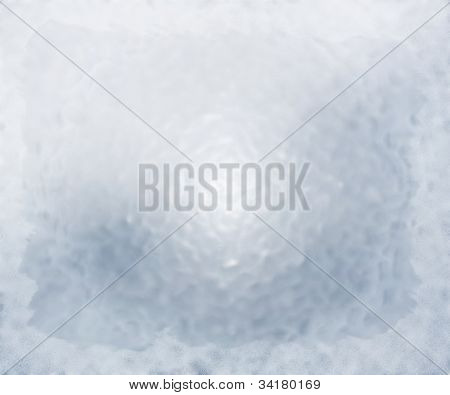 Frozen Glass Background