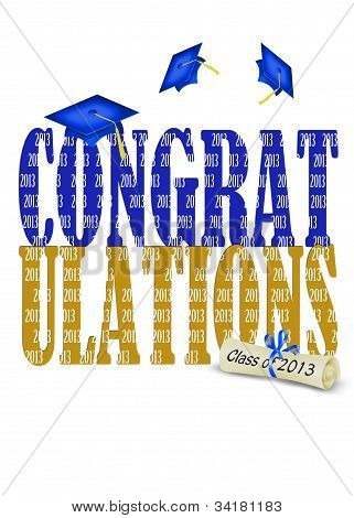 Congratulations for class of 2013