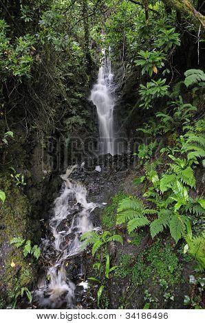 Waterfall near Inchiquin Lough