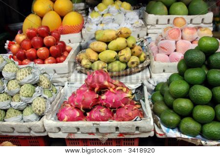 Fresh Exotic Fruit