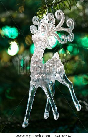 Decorative Chrystal Moose Shape