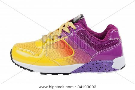 Sport Shoe On White Background