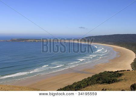 Beautiful Beach In New Zealand
