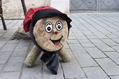 Tio De Nadal,  Is A Character In Catalan Mythology Relating To A Christmas Tradition Of Catalonia An poster