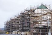 Building Affordable Homes With Scaffolding Safety By Local Construction Council To Help Government S poster