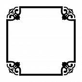 Save Download Preview Frame Decoration, Frame Decoration Border Frame, Carving Pattern Ornament Fram poster