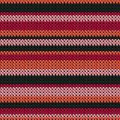 Macro Horizontal Stripes Knit Texture Geometric Seamless Pattern. Scarf Knitwear Fabric Print. Class poster