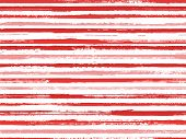 Grunge Stripes Seamless Vector Background Pattern. Rough Texture Lines Pattern. Dry Paintbrush Strip poster