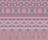 Navajo American Indian Pattern Tribal Ethnic Motifs Geometric Seamless Background. Bohemian Native A poster