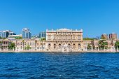 Beautiful Dolmabahce Palace By The Sea, Istanbul, Turkey poster