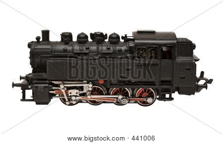 Steam Engine Model W/ Path (side View)