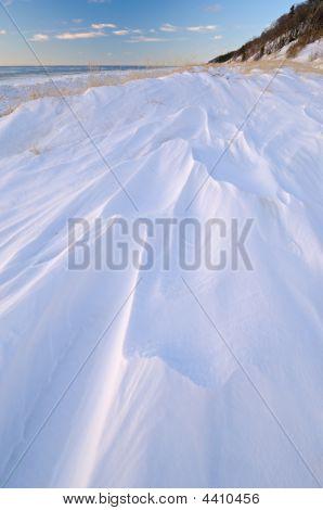 Saugatuck Dunes Winter