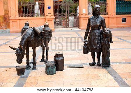 Estatua en Oviedo