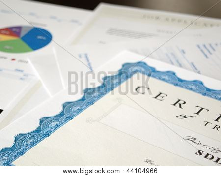 Certificate And Business Documents