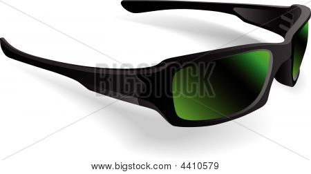 Sunglasses Black Frame