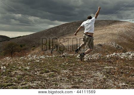 Jumping Trekker