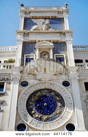 St Mark's Clocktower, Venice, Italy