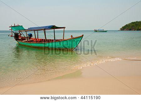 Boat In Seacoast