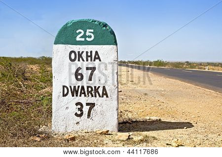 Touring India Okha 67 Dwarka 37 Sh 25
