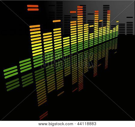 The Vector  Equalizer Abstract Background