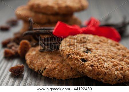 Vollkorn-Cookies
