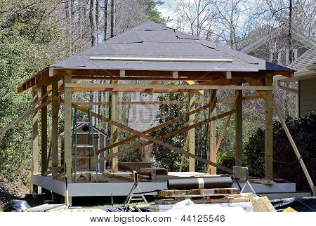 Wood Deck Construction