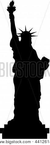 Liberty Black Silhouette